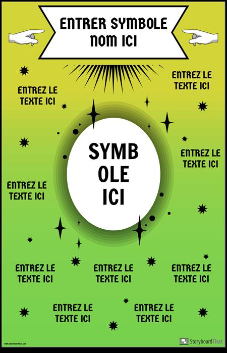 Affiche de Symbole Mathématique