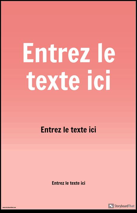 Affiche PSA