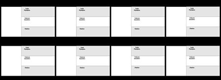Carte de caractères 16x9 3 Field Rangs