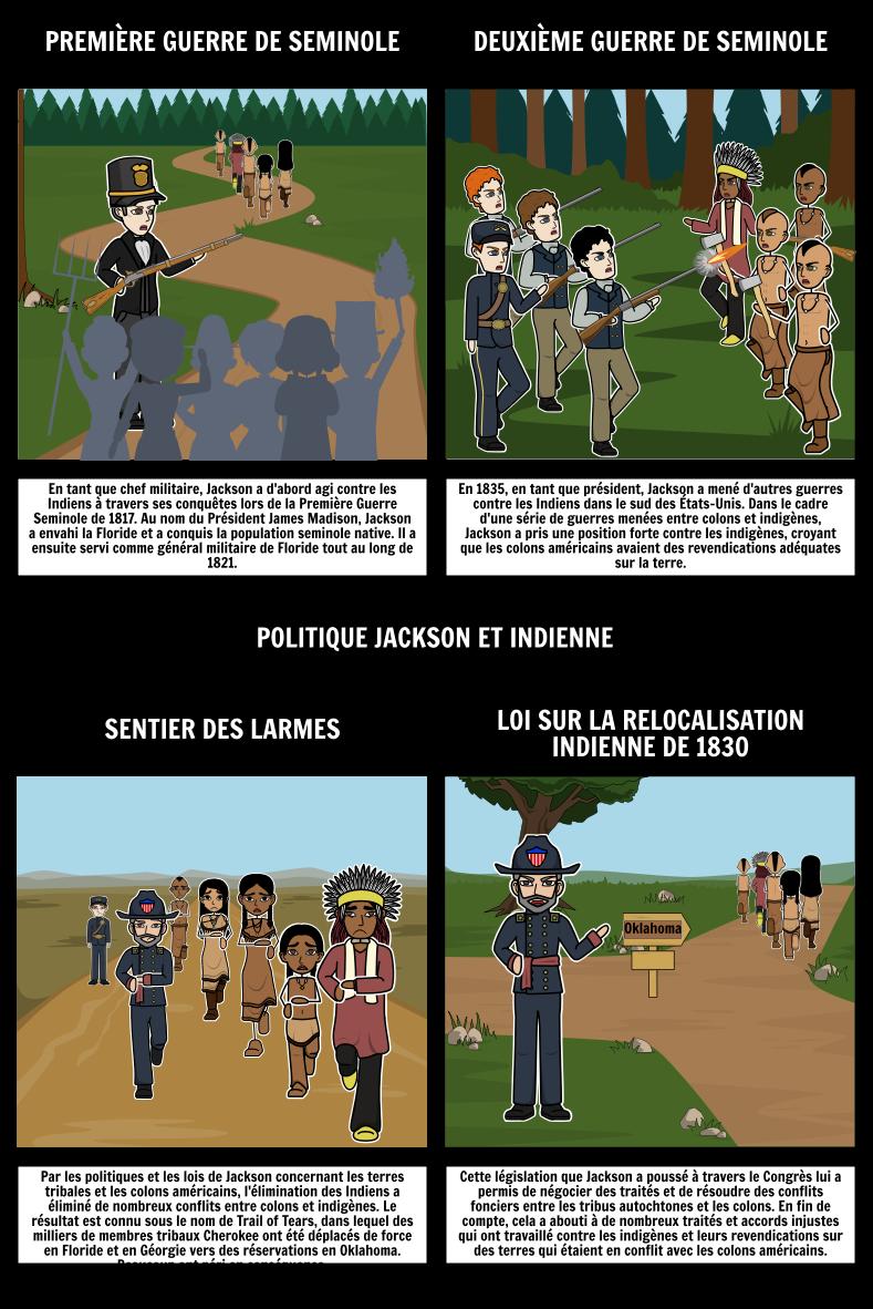 Démocratie Jacksonienne - Politique de Jackson et de L'Inde