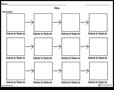 Diagramme Simple - 3 Rangées