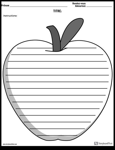 Ecriture Créative - Apple