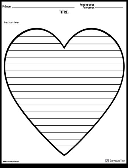 Ecriture Créative - Coeur