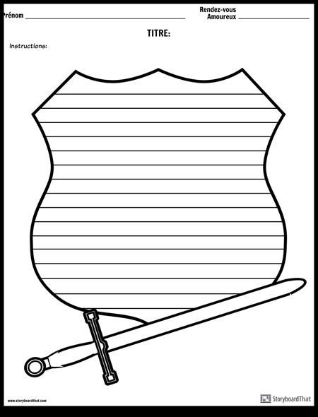 Ecriture Créative - Épée et Bouclier
