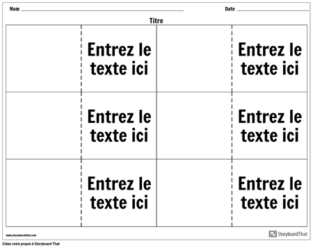 Flashcards - 6 en Haut