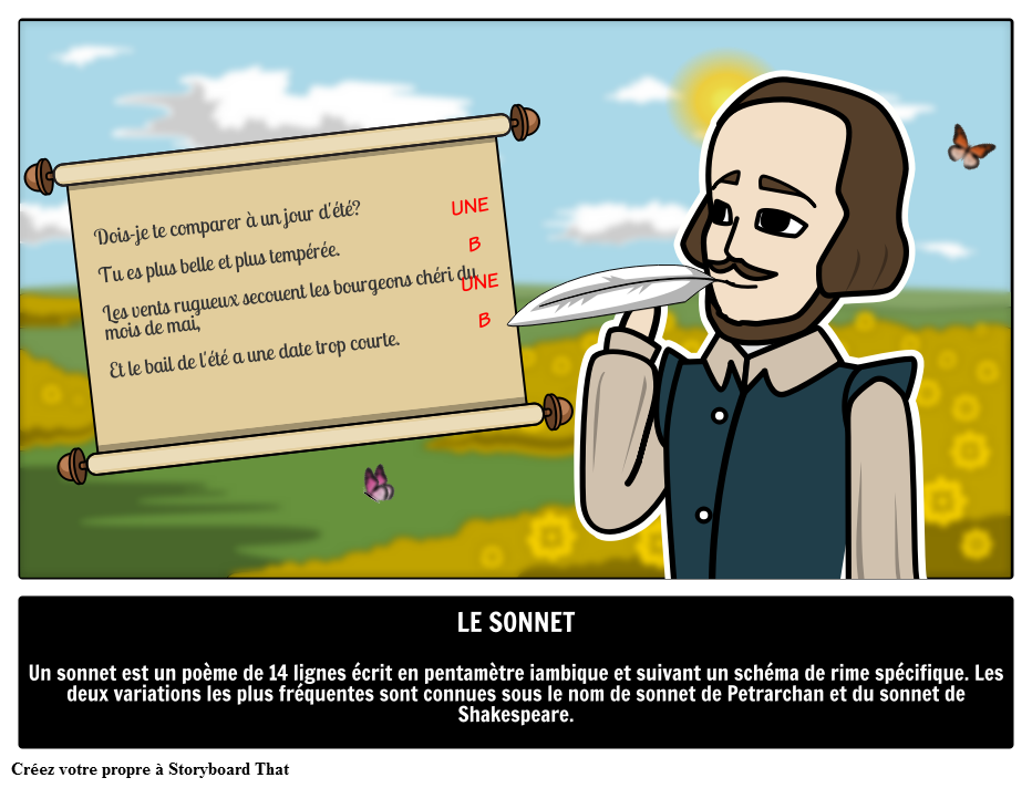 Le Sonnet Storyboard Por Fr Examples