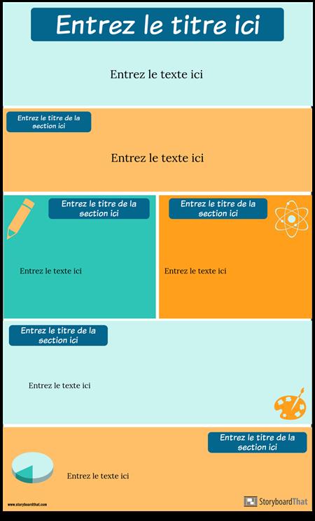 Modèle D'infographie de Stratégies