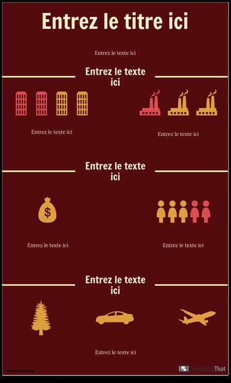 Modèle D'infographie Scientifique