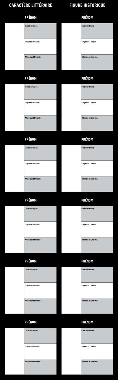 Modèle de Graphique T de Caractère D'allégorie