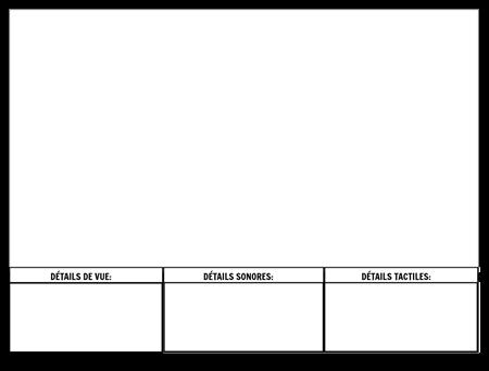 Modèle de Pratique D'écriture Descriptive