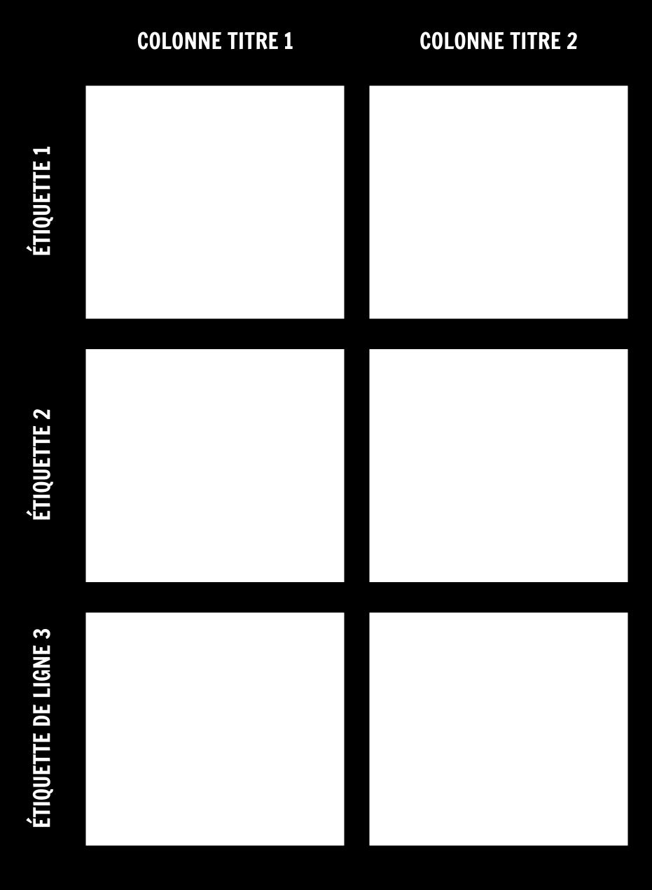 Modèle Graphique 3x2