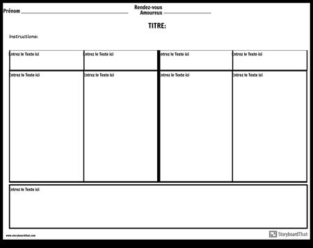 Notes à quatre colonnes avec espace de résumé