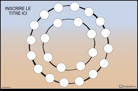 Plateau de jeu Circle