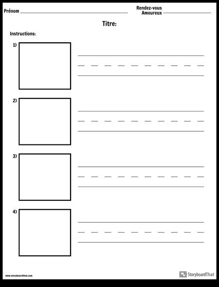 Pratique D'écriture - Mots Plus Longs et des Boîtes D'image