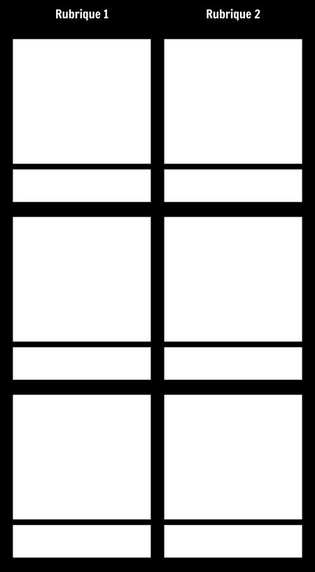 T-Chart 3 Lignes