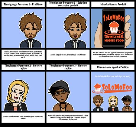 Témoignage - Exemple