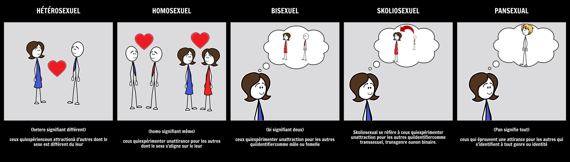 Terminologie de la Sexualité