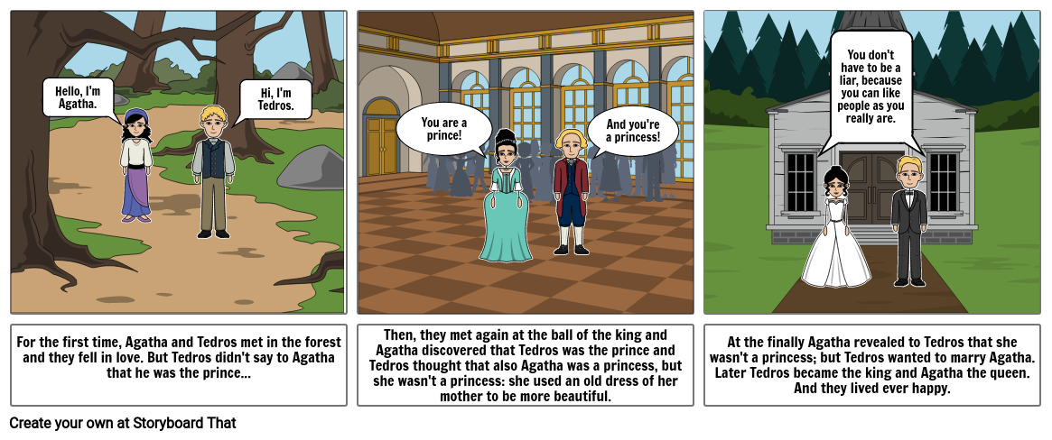 The story of Tedros and Agatha