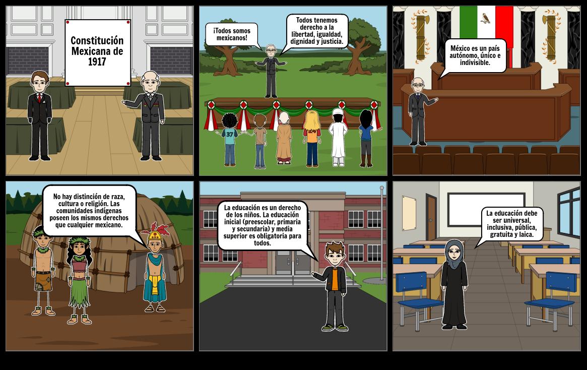 Comic de artículos 1,2 y 3