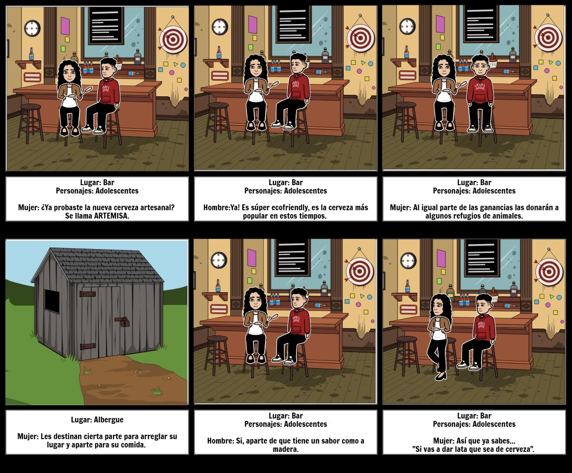 Storyboard merca