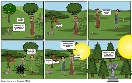 adam and eve the fall bible