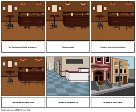 Unit 62 3D Modelling - Storyboard Part 2