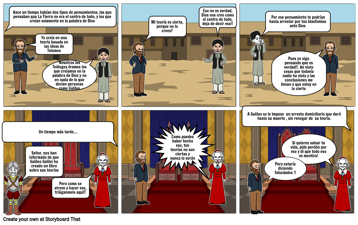 Los Teólogos y Galileo