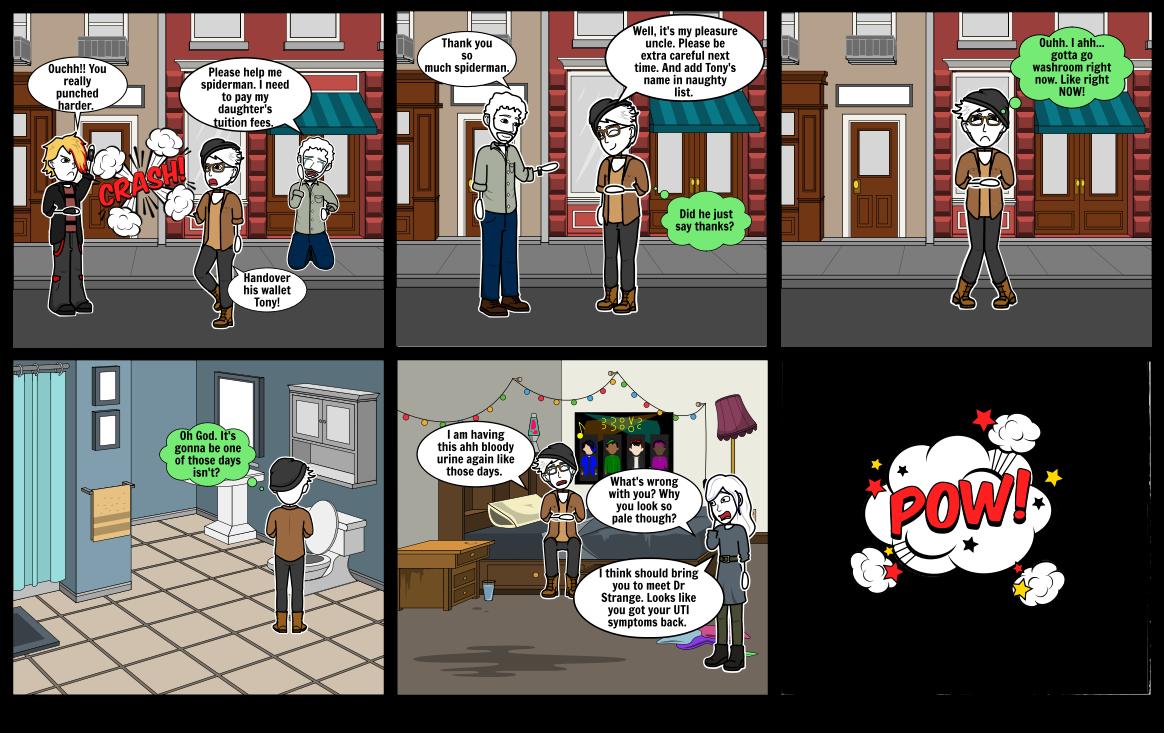 Antibiotic resistance scene 1