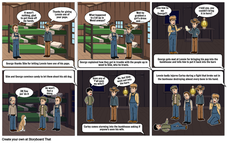 Of  Mice and Men Chap. 3