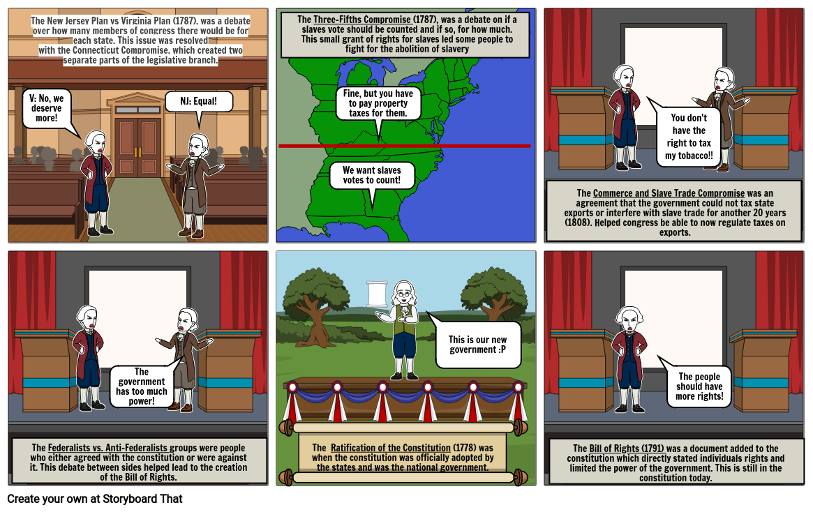Constitutional Storyboard #2