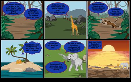 Levi The Lion Comic