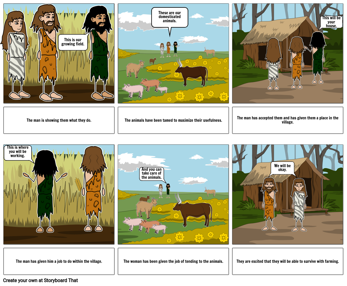 Neolithic Project: A Comic Book Page 2