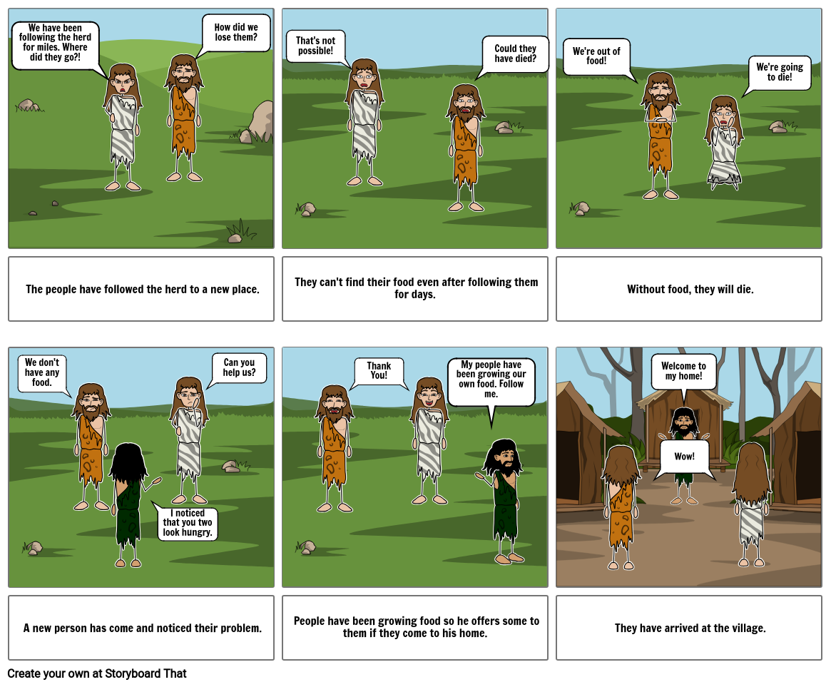 Neolithic Project: A Comic Book