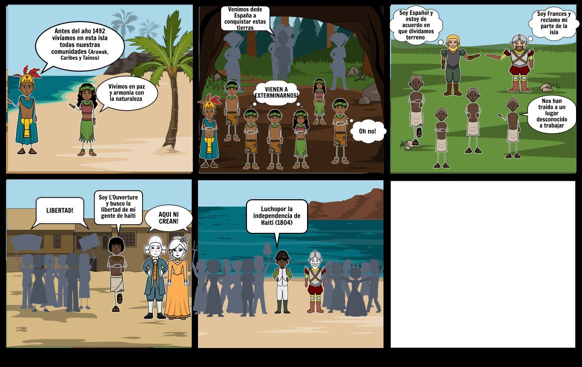 historieta independencia de haiti