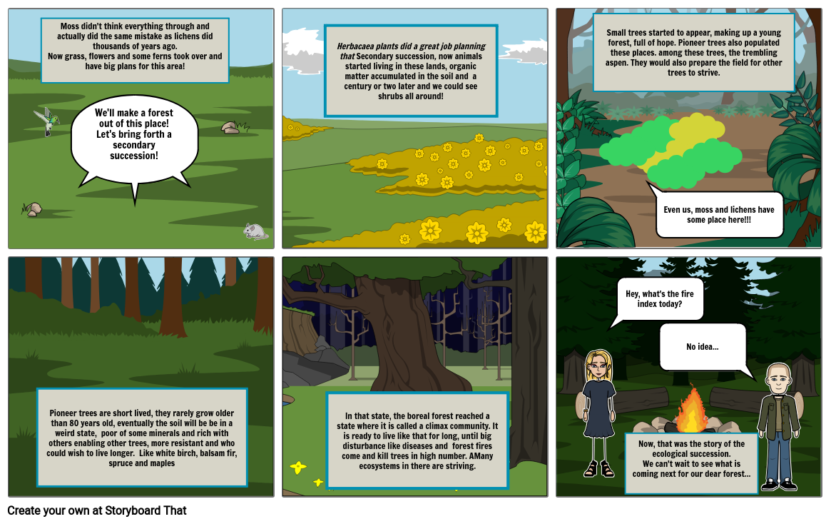Ecological succession part II