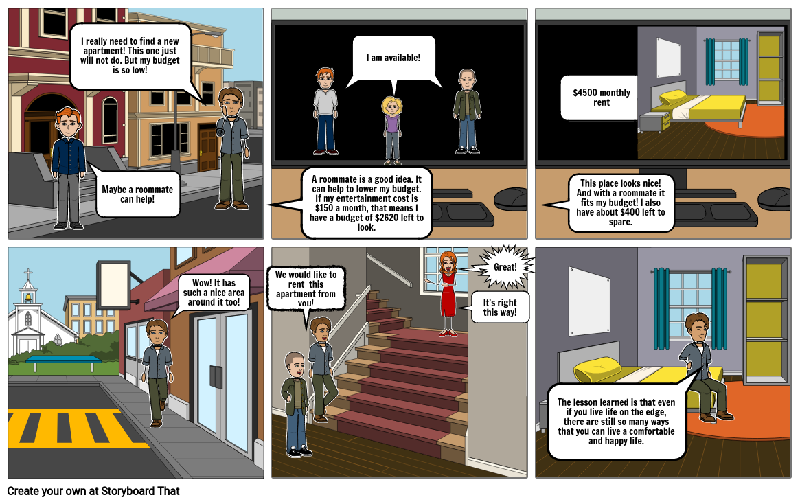 Business Project Comic