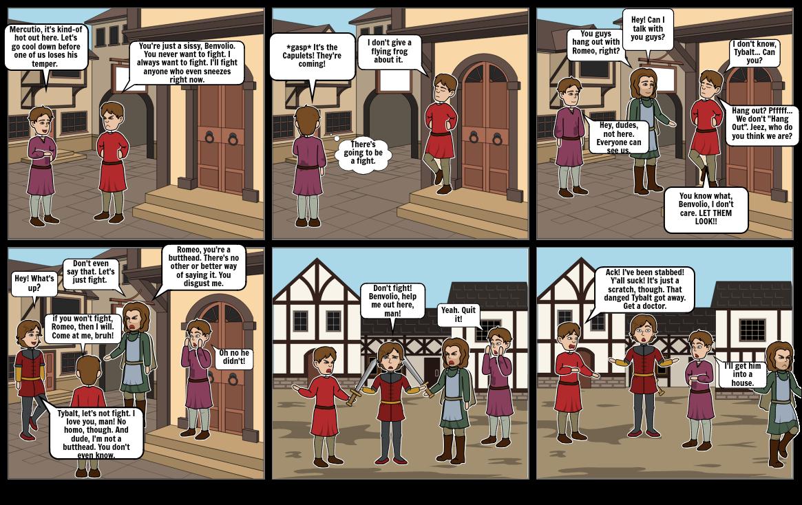 Act III, Scene I: Romeo and Juliet