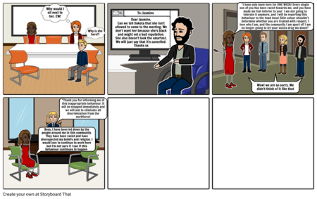 2 Storyboard - English Assessment