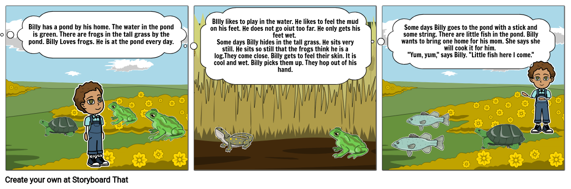 Billy's pond