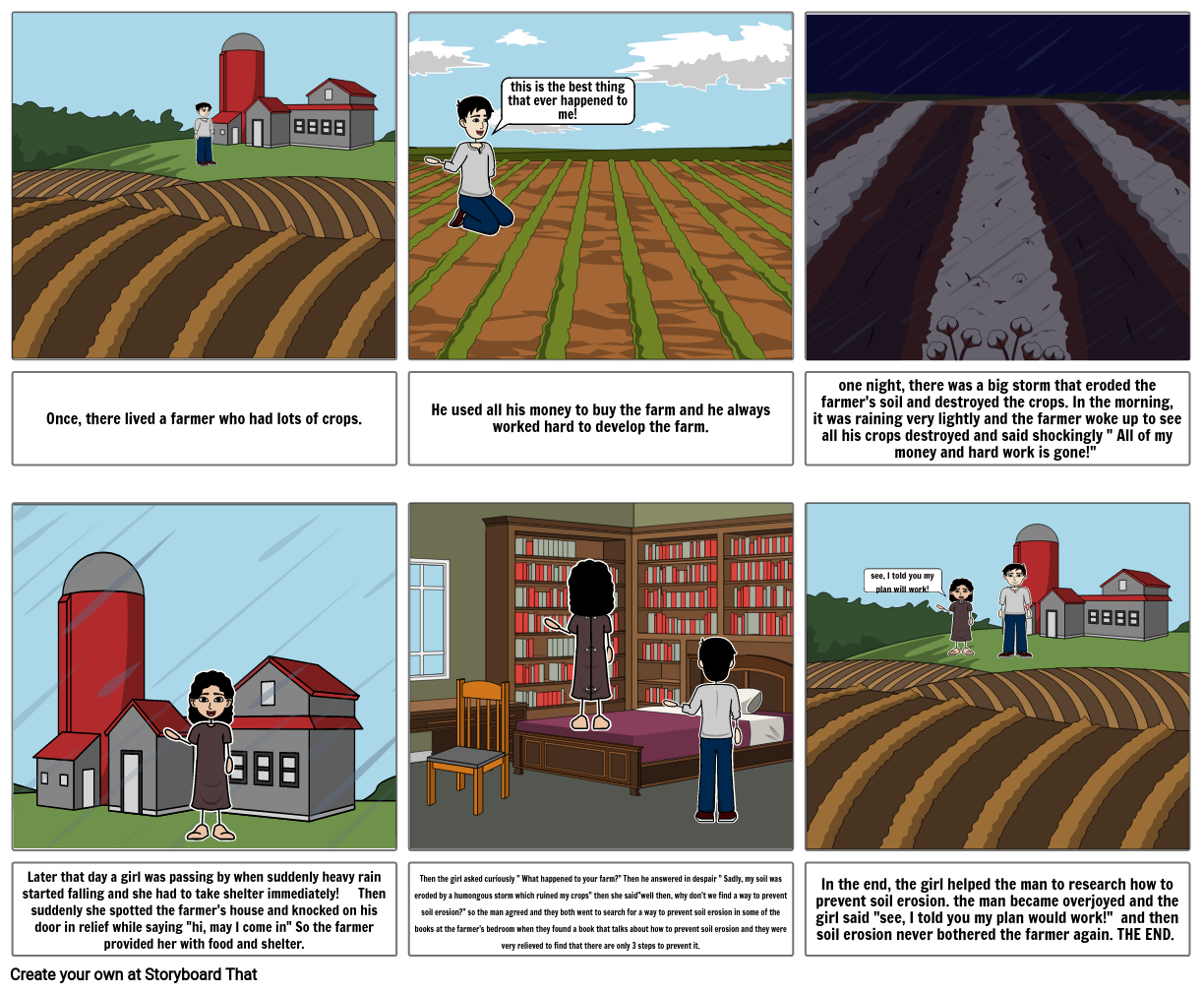 english steam project story board