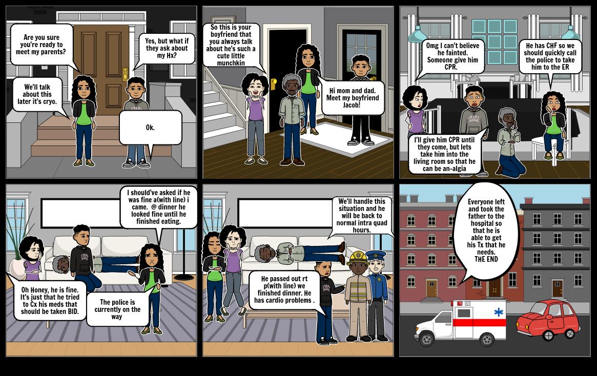 Healthcare Comic
