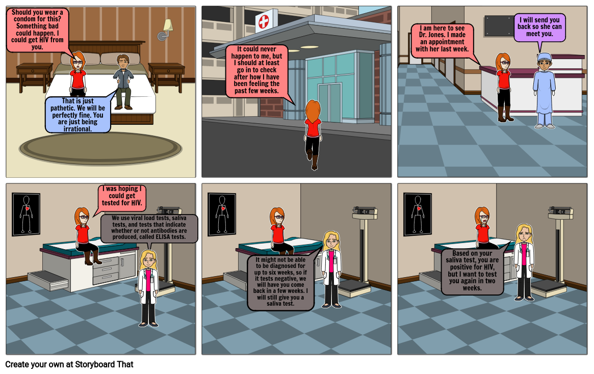 HIV/AIDS symptoms Storyboard par grqehaklghhpi