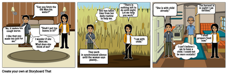 The Good Earth: Chapter 2 Comic Strip