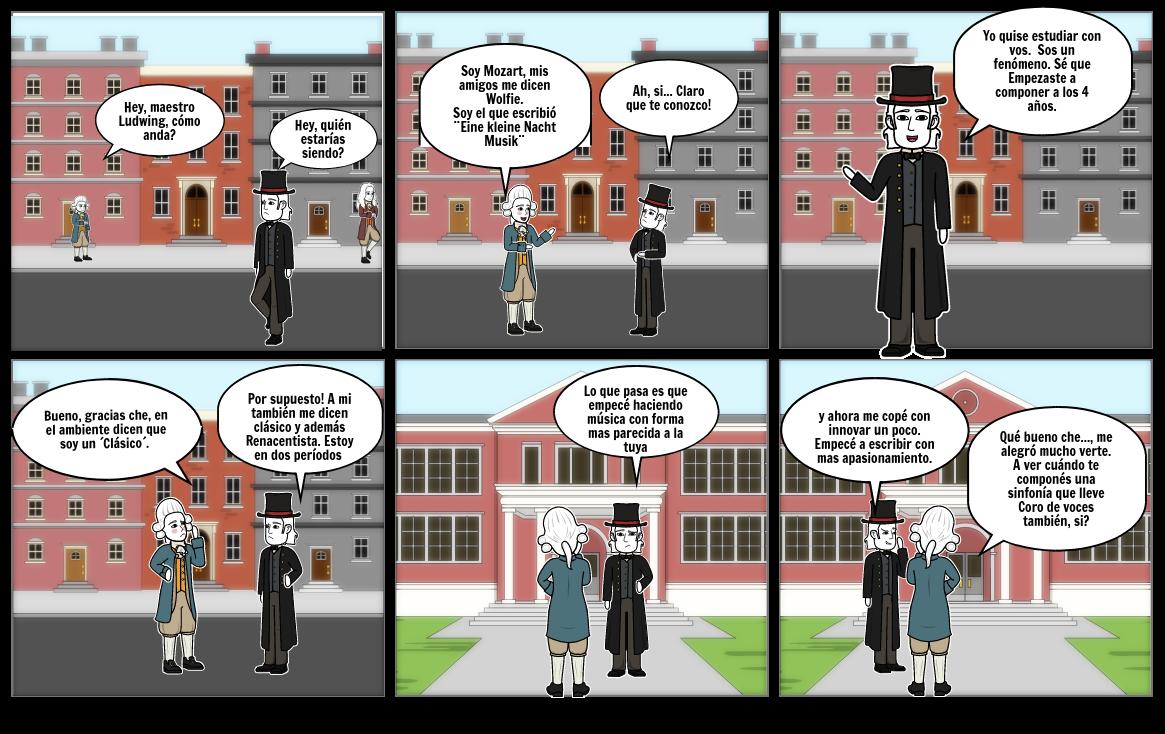 Mozart y Beethoven