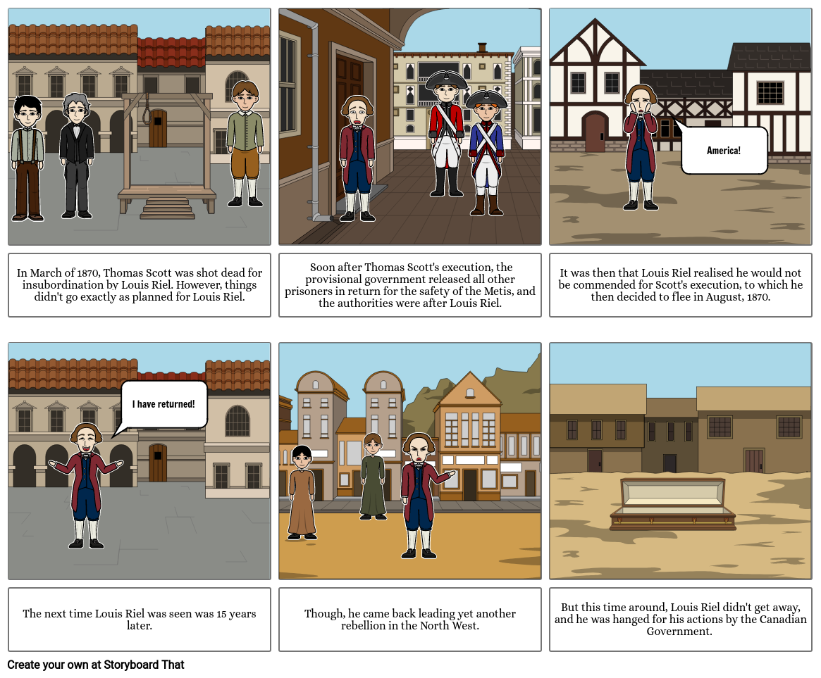 Red River Storyboard