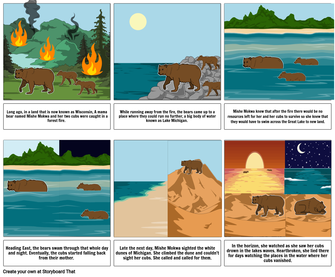 The Legend of the Sleeping Bear Dunes