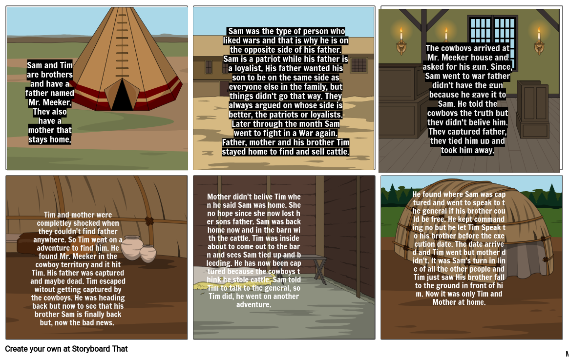 Storyboard For Linzey