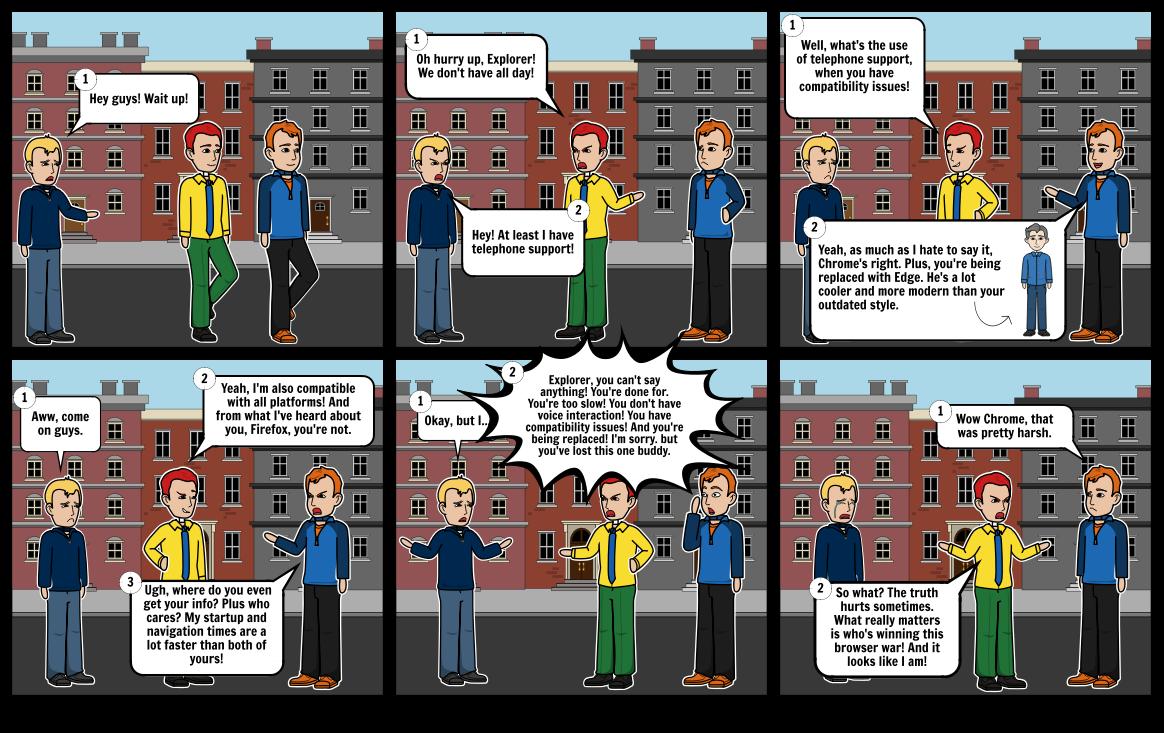 Browser Wars Part 1