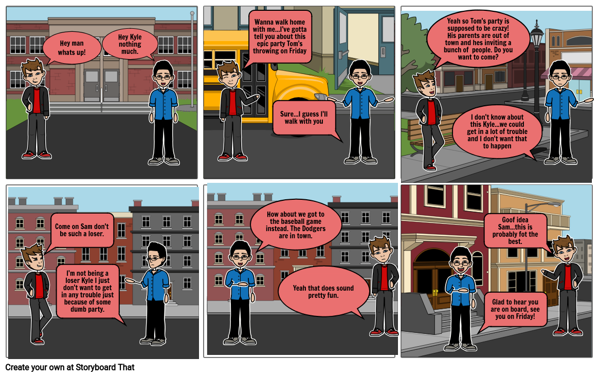 Health Class comic Strip