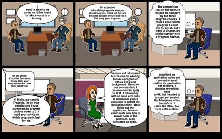 HBS Participant Storyboard